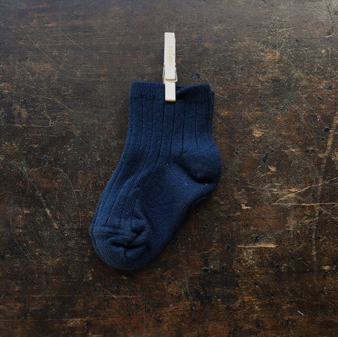 Babies & Kids Short Socks - Navy