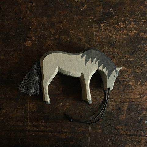 Handcrafted Black Horse