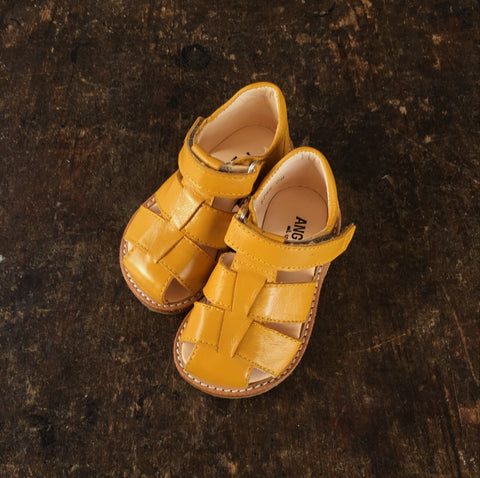Fisherman Toddler Sandals - Yellow - 20(UK4) - 25(UK8)
