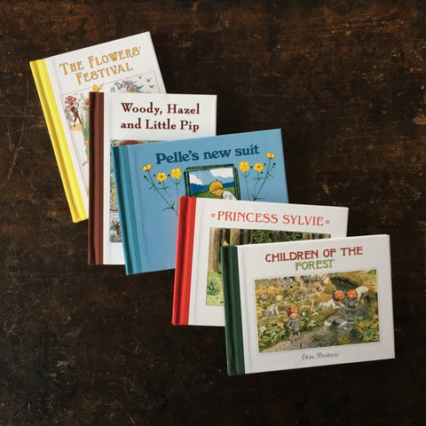 Elsa Beskow - Mini Edition Gift Collection: Children of the Forest and other beautiful books
