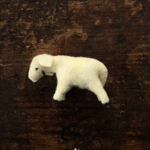 Handmade Wool Felt Sheep
