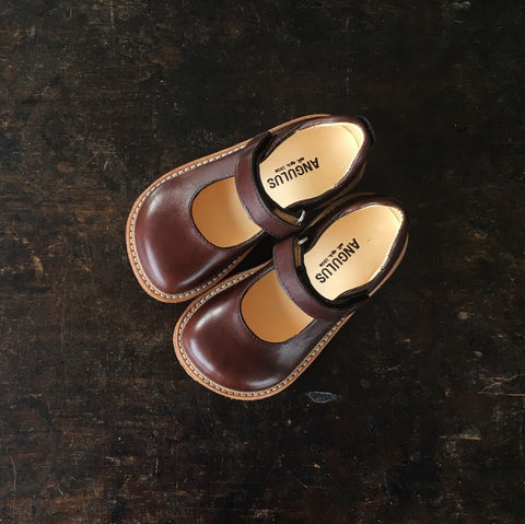 Exclusive Mary Jane Shoe - Angulus Brown - 23 (UK6) - 32 (UK13)