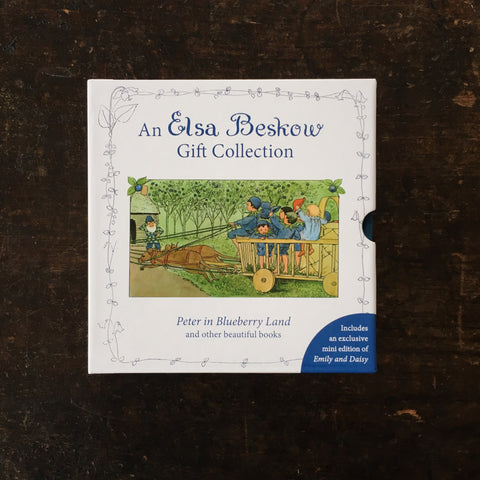 Elsa Beskow - Mini Edition Gift Collection: Peter in Blueberry Land and other beautiful books