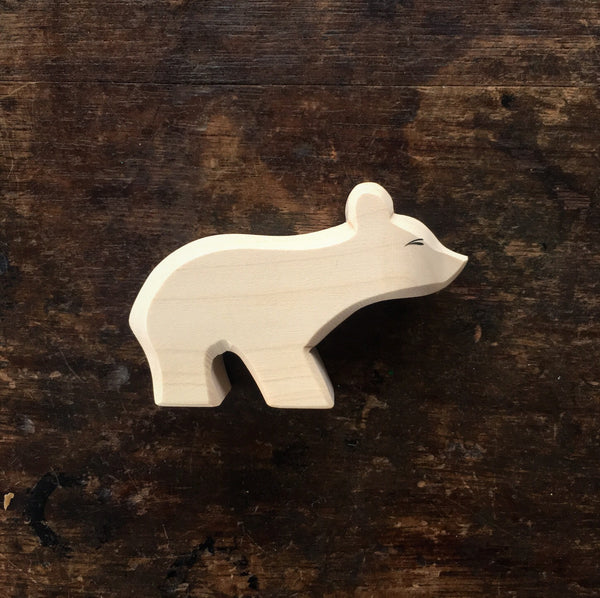 Handcrafted Polar Bear Cub