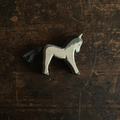 Handcrafted Black Foal