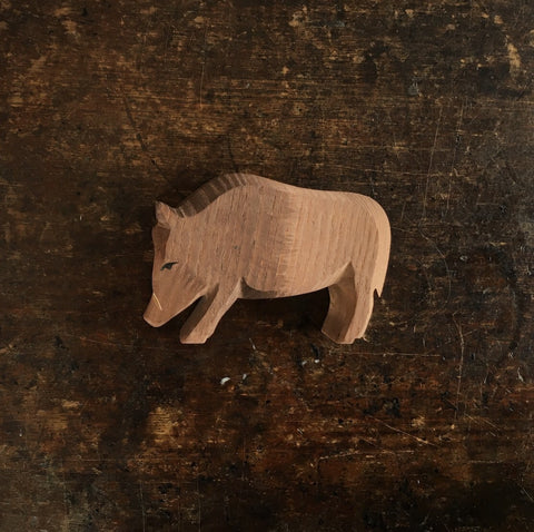 Handcrafted Wild Male Boar