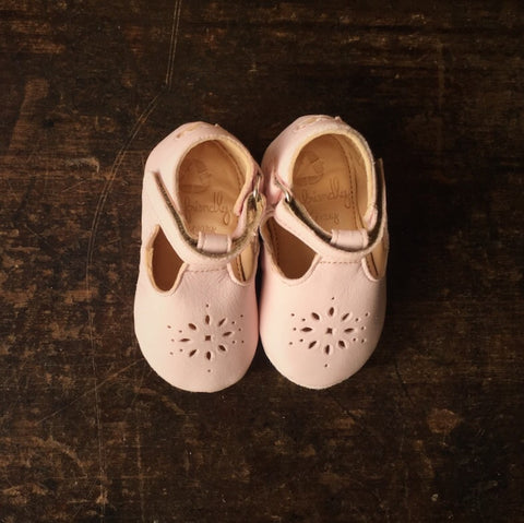 Eco Leather Little Shoes Lily - Pale Rose - 18-24