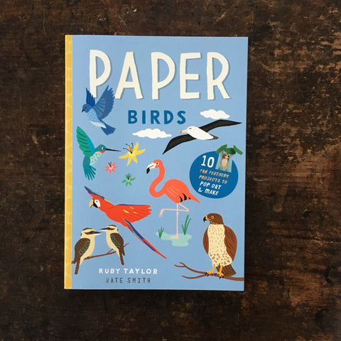 Paper Birds Pop-Out and Make Book