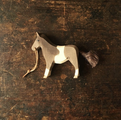 Handcrafted Pony with reins