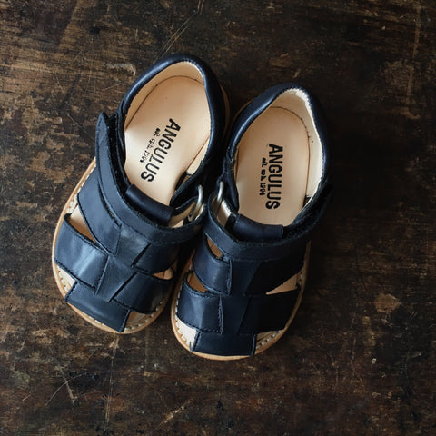 Fisherman Toddler Sandals - Navy - 20 (UK4)-24 (UK7)