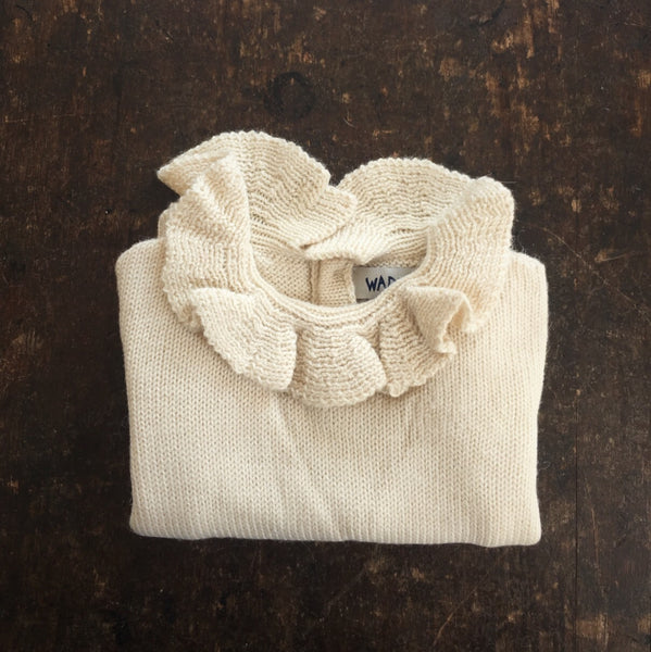 Alpaca Pierrot Jumper - Natural - 3m
