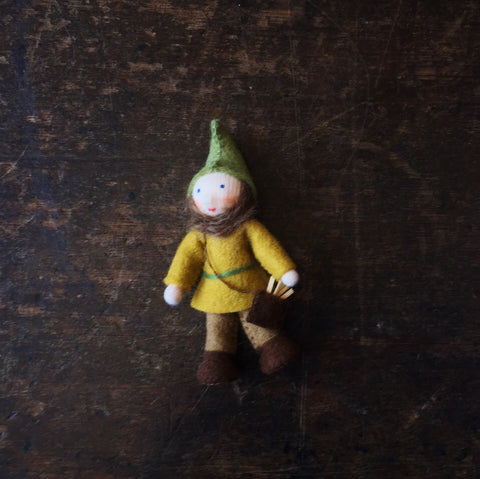 Handmade Small Pocket Dwarf - Forrest