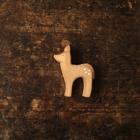 Handcrafted Standing Fawn