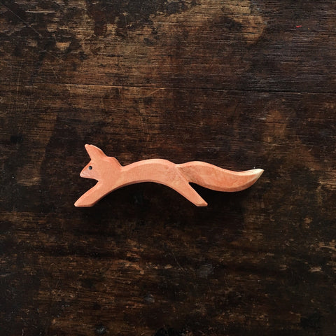 Handcrafted Small Jumping Red Squirrel