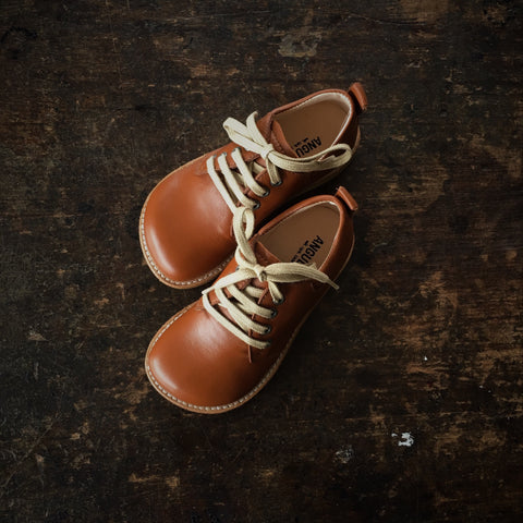 Exclusive MamaOwl Lace Shoe - Cognac - 26 (UK8) - 29