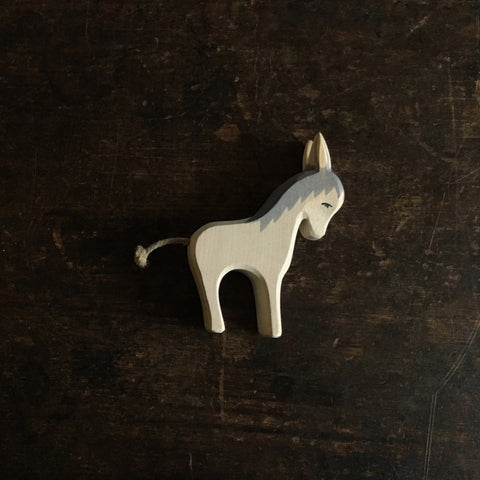 Handcrafted Standing Donkey