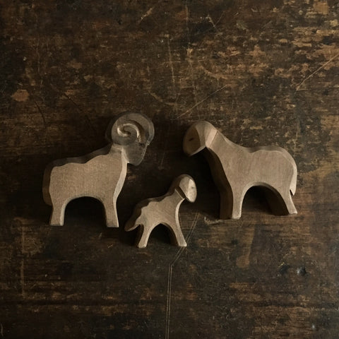 Handcrafted Brown Sheep