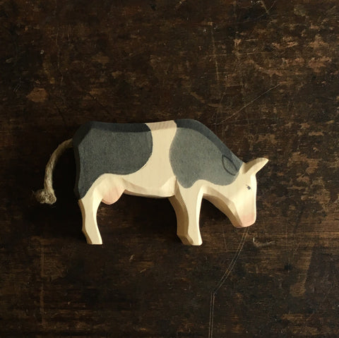 Handcrafted Cow Eating