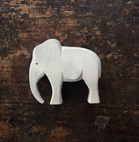 Handcrafted Large Bull Elephant