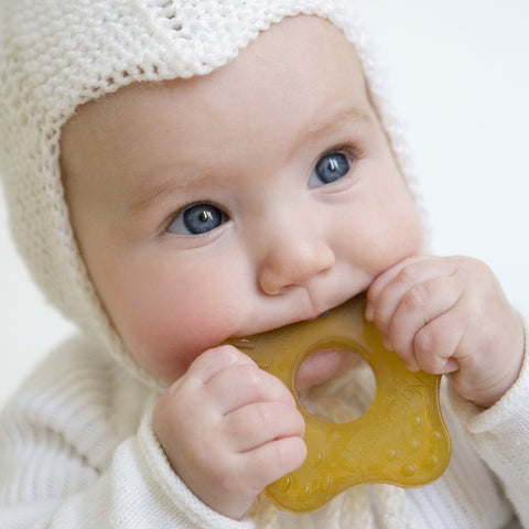 Natural Rubber Teething Toy - Starfish