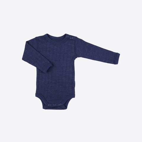 Merino Wool/Silk Body Navy or Natural 0m-3y