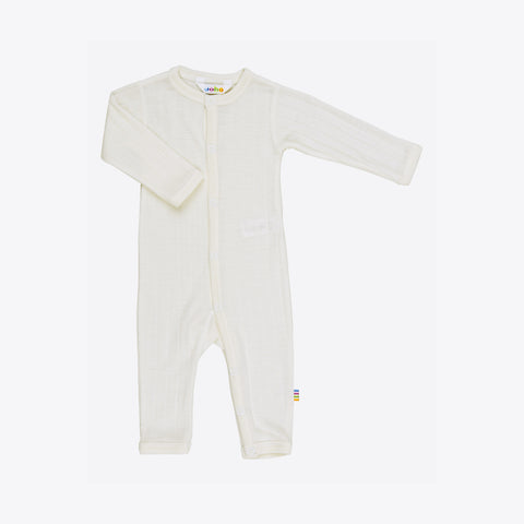 Merino wool/silk romper natural 0m-3 years