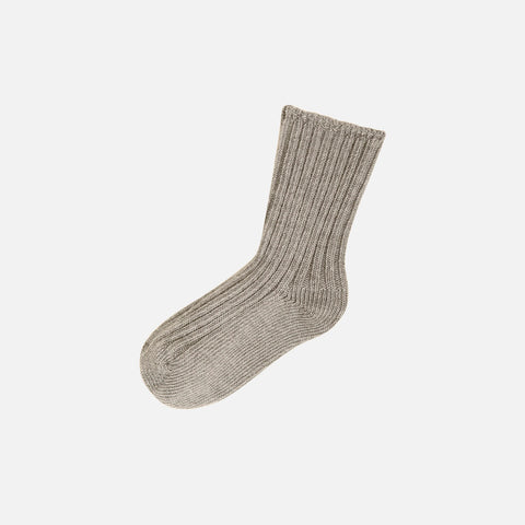 Merino wool socks - Sand