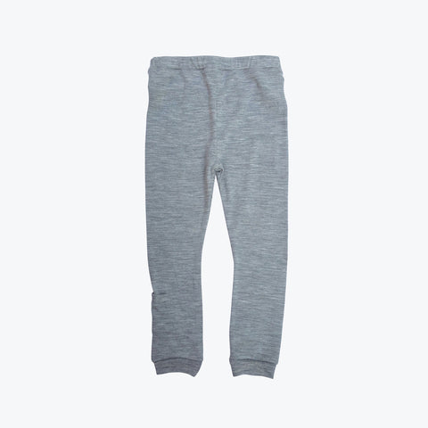 Merino Jersey Leggings - Grey - 5y