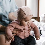 Linen Bonnet - Blush - 0m-4y