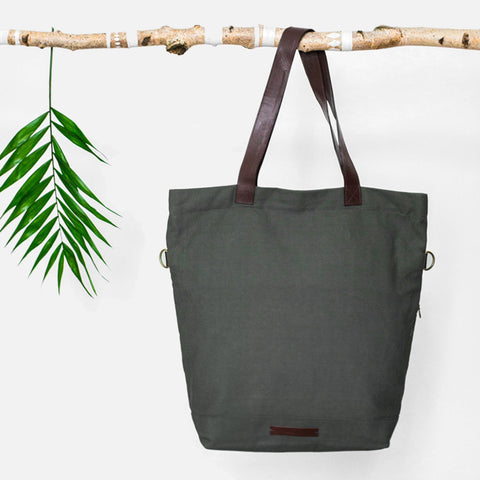 Global Traveller Cotton Changing bag - Olive