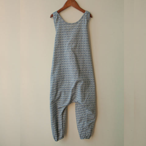 Cotton Luna Overall - Chambray - 2-8y