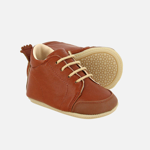 Eco Leather Igo B Shoes - Chataigne