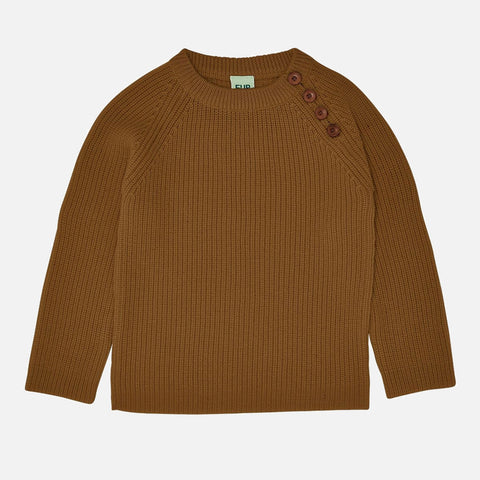 Chunky Merino Wool Sweater - Sienna