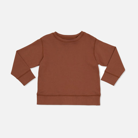 Cotton Ebi Jersey Top - Toffee