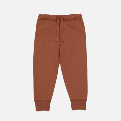 Cotton Ebi Jersey Pants - Toffee