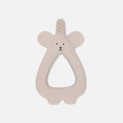 Natural Rubber Toothbrush Bear - Moon Beam