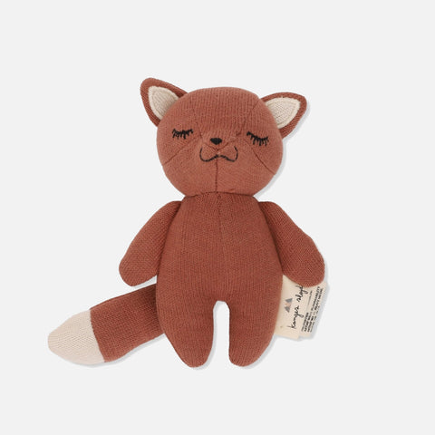 Cotton Mini Rattle - Fox