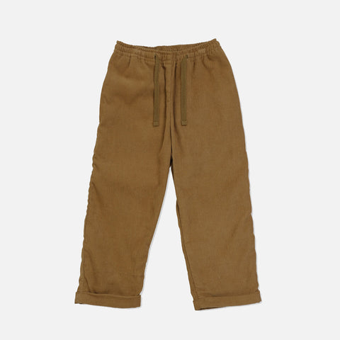 Cotton Corduroy Simme Pants - Amber Brown