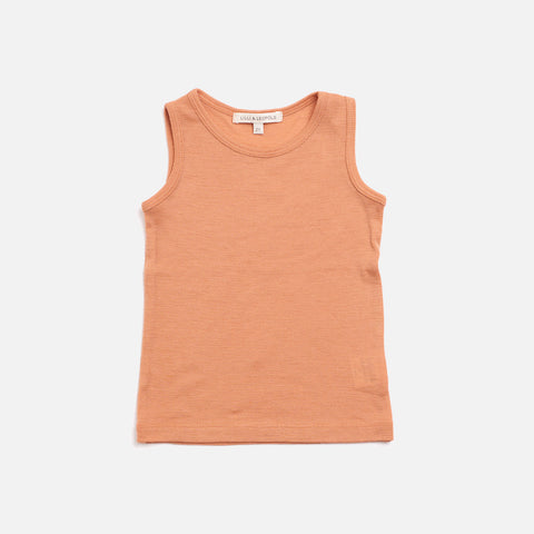 Organic Merino Wool Tank - Copper