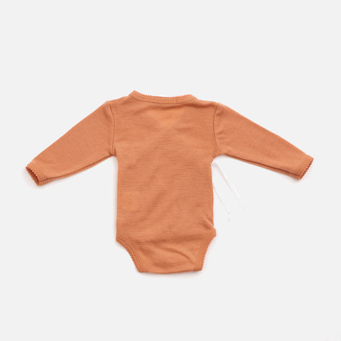 Organic Merino Wool Wrap Body - Copper