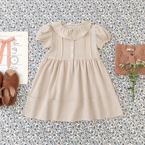 Cotton Maisy Dress - Milk