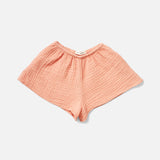 Organic Cotton Mi Casa Shorts - Melon