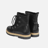 Women's Waterproof Boots w/ Zip - Black