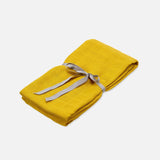 Organic Cotton Muslin Swaddle - Mustard