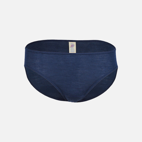 Women's Wool/Silk Bikini Briefs - Marine