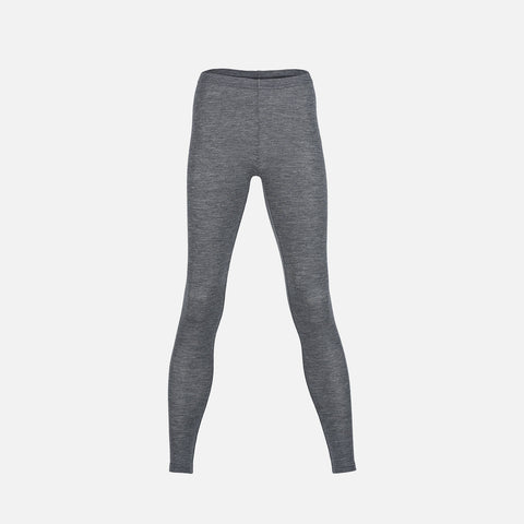 Organic Merino Wool Women's Leggings - Slate