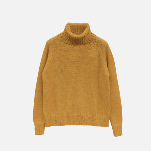 Women's Alpaca Abbey Sweater - Amber