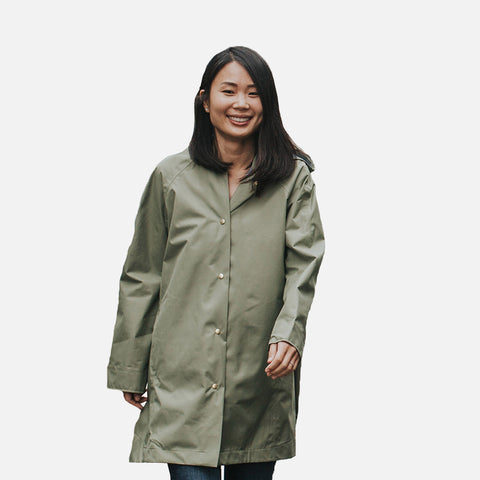Women's 100% Waterproof Swing Coat - Balsam