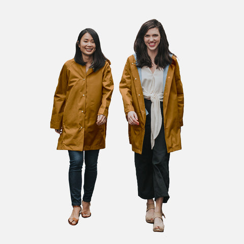 Women's 100% Waterproof Swing Coat - Acorn