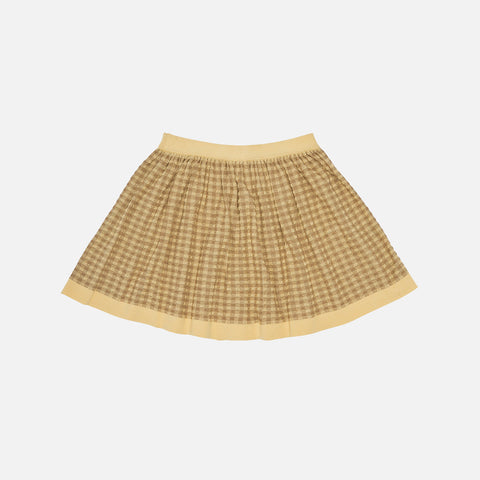 Organic Cotton Skirt - Desert Sun/Camel